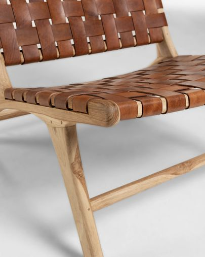 Brown Calixta armchair