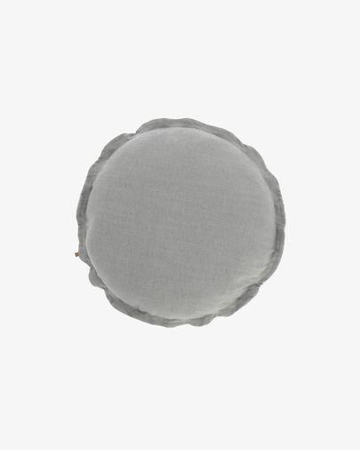 Kussenhoes Maelina Ø 45 cm grijs