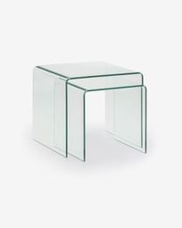 Burano set of 2 nesting tables