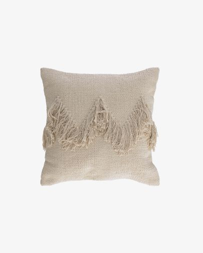 Paulin white cushion cover 45 x 45 cm