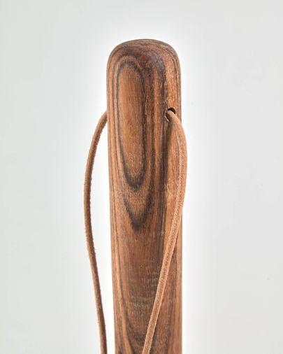 Portarrollos de papel de cocina Ema madera maciza acacia