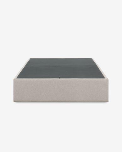 Base letto con contenitore Matters 150 x 190 cm beige
