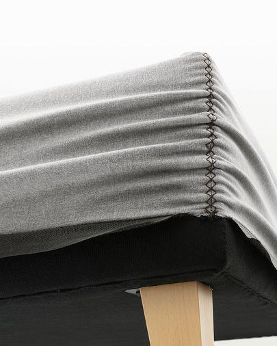 Base alta Nikos gris 150 x 190 cm