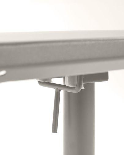 Advance tafel  70 x 70 cm mat grijs