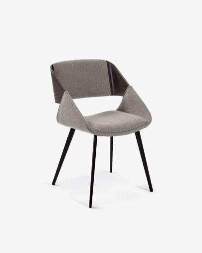 Cadeira Herrick cinza claro
