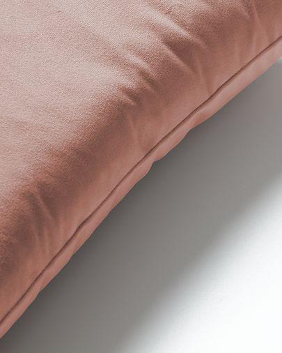 Funda de coixí Lita 45 x 45 cm vellut rosa