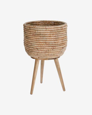 Cache-pot Colomba fibres naturelles Ø 34 cm
