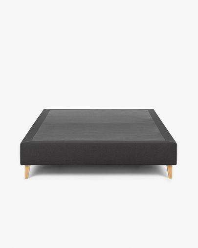 Bed base high Nikos 140 x 190 cm graphite