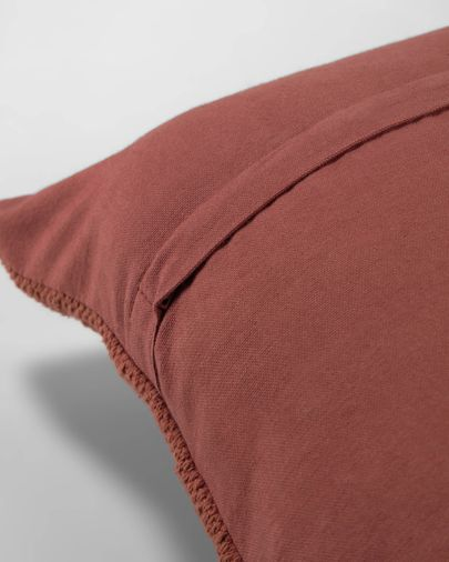 Paulin maroon cushion cover 45 x 45 cm