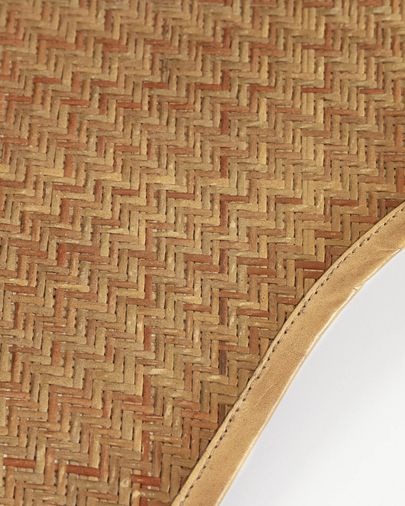 Natural fibre Fly armchair