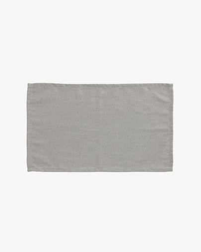 Set Samay de 4 manteles individuales gris