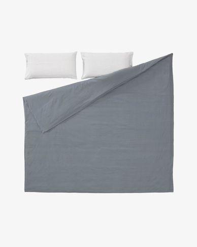 Set Mariel funda nórdica, bajera y funda almohada algodón orgánico GOTS 180x200 cm