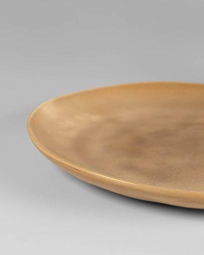 Platte borden Vreni beige