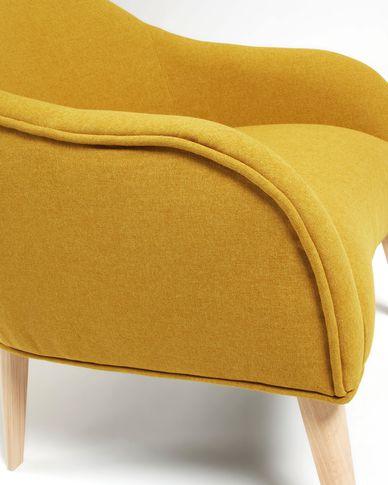 Mustard Bobly armchair