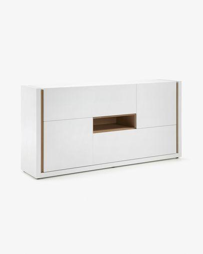 DE dressoir 197 x 96 cm wit