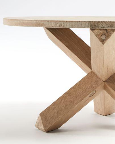 Table basse Lotus  Ø 65 cm bois