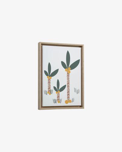 Uriana palm picture 30 x 42 cm