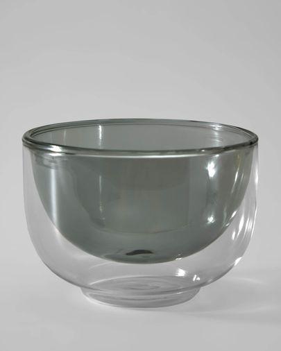 Braulia grey bowl