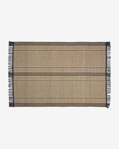 Brunilda black and brown rug 160 x 230 cm
