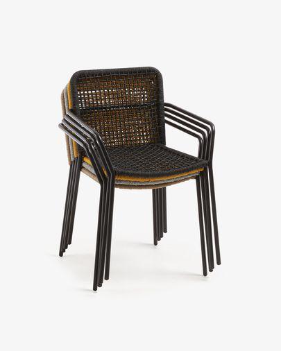Black Boomer chair