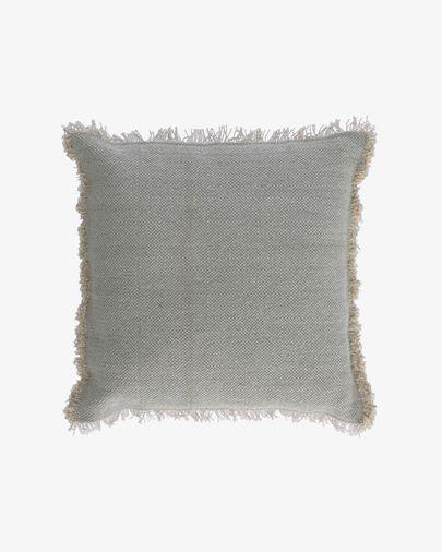 Housse de coussin Camily 60 x 60 cm gris clair