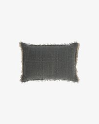 Camily dark grey cushion cover 30 x 50 cm