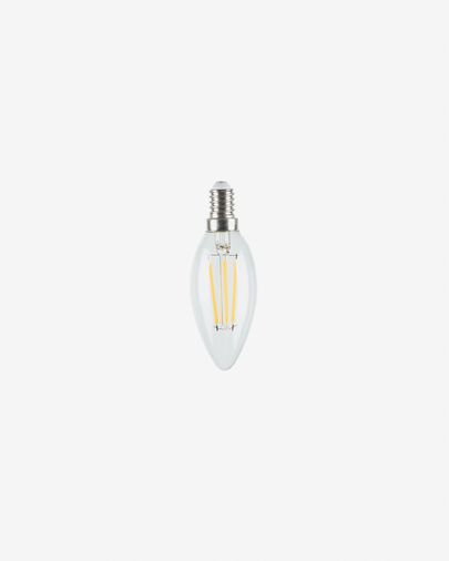 Lamp LED Bulb E14 van 4W en 35 mm neutraal licht