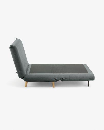 Susan sofa bed in dark grey 105 cm