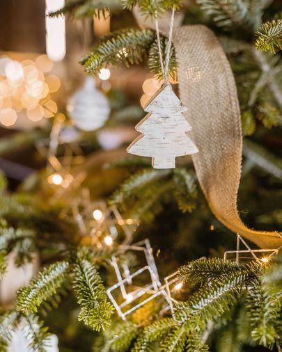 Set Alira de 6 penjolls decoratius d'arbre de Nadal
