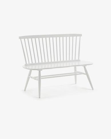 White Slover bench 120 cm