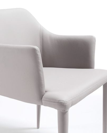 Chair Croft beige leather