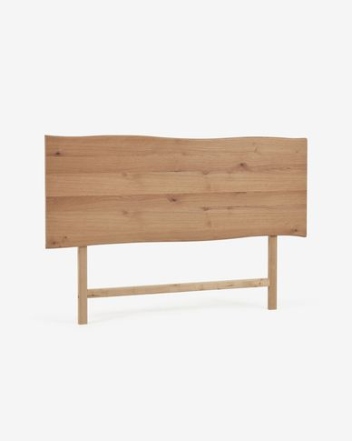 Rasha headboard with oak veneer with natural finish 170 x 55 cm