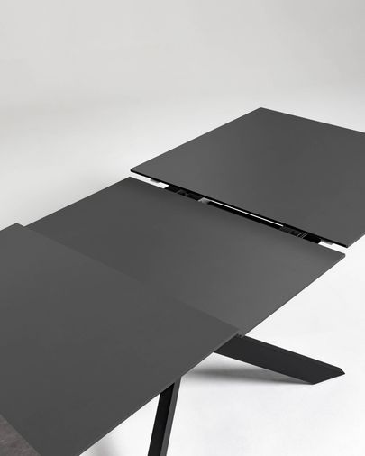 Atminda extendable table 160 (210) x 90 cm glass
