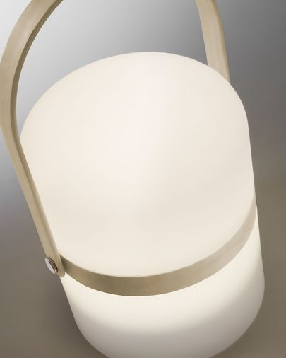 Ridley led table lamp brown