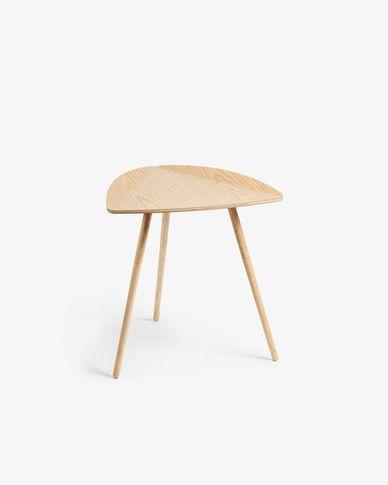 Tavolino Damasc in legno di rovere impiallacciato 45 x 47 cm