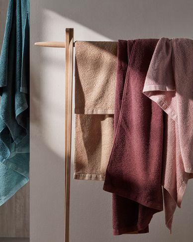 Miekki hand towel burgundy