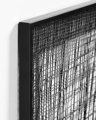 Metalen schilderij Christine 79 x 79 cm