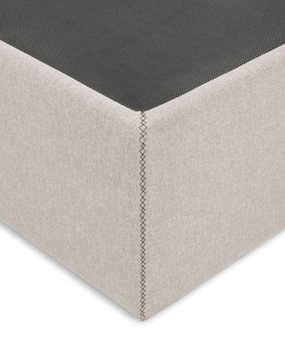 Storage bed base Matters 180 x 200 cm beige