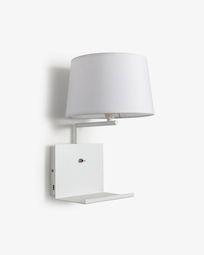 White Neala wall lamp