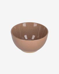 Bol Tilia en céramique marron clair