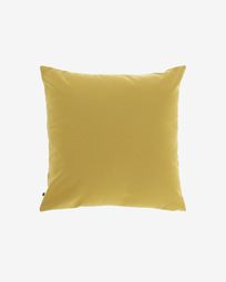Fodera per cuscino Nedra 45 x 45 cm senape