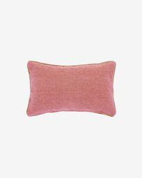 Dalila PET terracotta cushion cover 30 x 50 cm