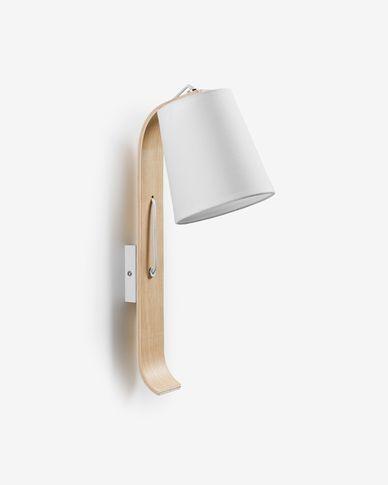 Repcy wall lamp white