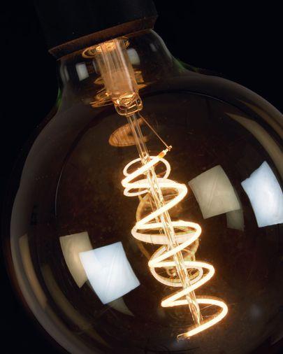 Bombilla LED Bulb E27 6W y 120 mm luz cálida