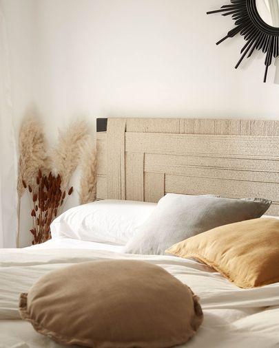 Fodera per cuscino Maelina Ø 45 cm beige