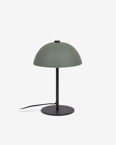 Lampe Aleyla en métal peint vert