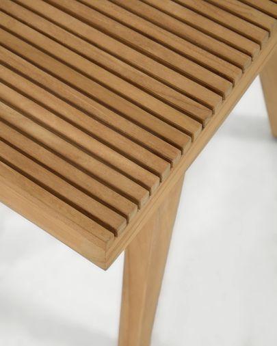 Reposapiés Vicentina de madera maciza de teca