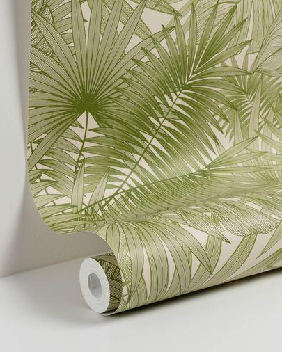 Carta da parati Tropic verde 10 x 0,53 m