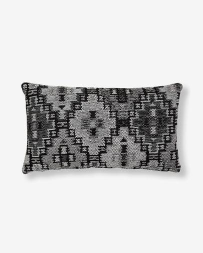 Fodera cuscino Nazca 30 x 50 cm grigio scuro