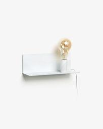 Hannah wandlamp 35 cm wit